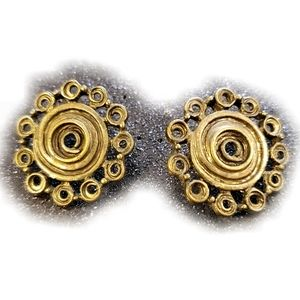 Jewelry - 3/$20 Steampunk Style Antiqued Bronze Earr…